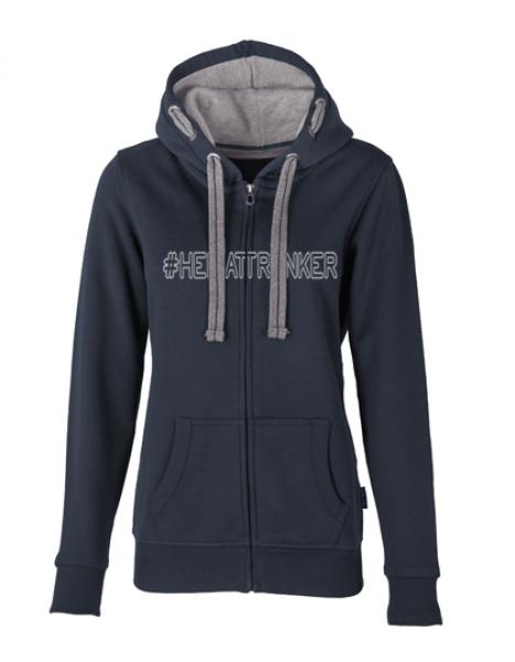 Women´s Hooded Jacket '#Heimattrinker'